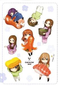 Rating: Safe Score: 15 Tags: chibi kawai_makoto kimono koufuku_graffiti machiko_ryou morino_kirin seifuku shiina_(koufuku_graffiti) sweater User: fireattack