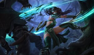 Rating: Safe Score: 9 Tags: akali armor dress league_of_legends tagme thighhighs weapon User: Radioactive