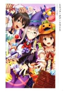 Rating: Questionable Score: 5 Tags: animal_ears aono_sumio fate/grand_order halloween himuro_kane makidera_kaede megane saegusa_yukika witch User: Radioactive