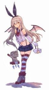 Rating: Safe Score: 31 Tags: halloween heels kantai_collection rensouhou-kun shimakaze_(kancolle) tagme thighhighs thong wings User: Spidey