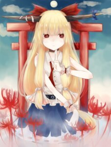 Rating: Safe Score: 11 Tags: horns ibuki_suika touhou yuu-rin User: eridani