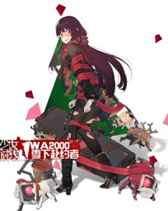 Rating: Safe Score: 32 Tags: christmas duoyuanjun girls_frontline heels mecha pantsu pantyhose torn_clothes wa2000_(girls_frontline) User: WtfCakes