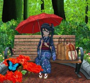 Rating: Safe Score: 23 Tags: hataraku_maou-sama! kamazuki_suzuno kimono nihility User: 23yAyuMe