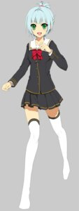 Rating: Safe Score: 5 Tags: seifuku thighhighs yukiuta_sahiro User: fireattack