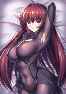 Rating: Questionable Score: 42 Tags: ame_wa_agattano bodysuit erect_nipples fate/grand_order no_bra scathach_(fate/grand_order) torn_clothes User: mash