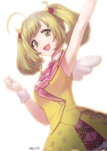 Rating: Safe Score: 34 Tags: autographed meto31 satou_shin the_idolm@ster the_idolm@ster_cinderella_girls wings User: mash