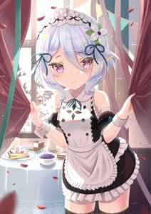Rating: Safe Score: 19 Tags: kokkoro maid pointy_ears princess_connect thighhighs wander00317_(akihirotanisi) User: Mr_GT
