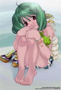 Rating: Safe Score: 18 Tags: ebata_risa feet macross macross_frontier oosanshouuo-san ranka_lee User: Aurelia