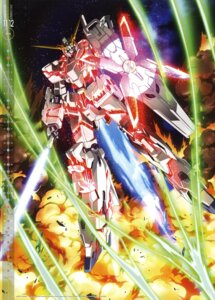 Rating: Safe Score: 21 Tags: calendar gundam gundam_unicorn mecha sword unicorn_gundam yamagishi_masakazu User: vkun