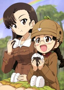Rating: Safe Score: 5 Tags: fukuda_(girls_und_panzer) girls_und_panzer kanau megane nishi_kinuyo uniform User: drop