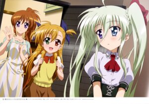 Rating: Questionable Score: 24 Tags: einhart_stratos heterochromia mahou_shoujo_lyrical_nanoha mahou_shoujo_lyrical_nanoha_vivid nii_manabu possible_duplicate seifuku takamachi_nanoha vivio User: drop