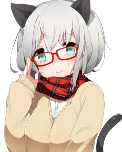 Rating: Safe Score: 24 Tags: animal_ears kinakomoti megane nekomimi sanya_v_litvyak seifuku strike_witches tail User: Radioactive