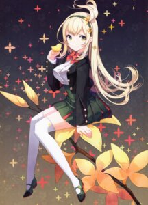 Rating: Safe Score: 44 Tags: h2so4 heels island_of_horizon seifuku tagme thighhighs User: kiyoe