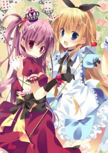 Rating: Safe Score: 48 Tags: alice alice_in_wonderland dress kisaragi_kiriha queen_of_hearts User: 椎名深夏