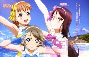 Rating: Safe Score: 33 Tags: love_live!_sunshine!! sakurauchi_riko suzuki_isamu takami_chika watanabe_you User: drop