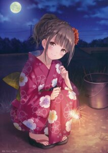 Rating: Safe Score: 78 Tags: fukahire_sanba ruinon yukata User: Twinsenzw