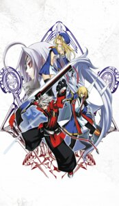 Rating: Safe Score: 6 Tags: blazblue kisaragi_jin noel_vermillion ragna_the_bloodedge v-13 User: kyoushiro