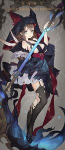 Rating: Safe Score: 35 Tags: grandialee no_bra stockings tagme thighhighs torn_clothes weapon User: Radioactive