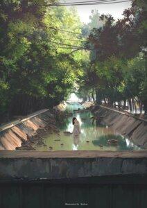 Rating: Safe Score: 27 Tags: dress kyokaz landscape signed wet User: charunetra