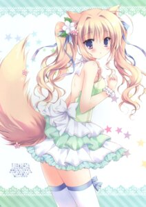 Rating: Questionable Score: 18 Tags: animal_ears cascade hasekura_chiaki tagme tail thighhighs User: Radioactive