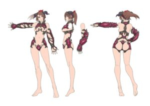 Rating: Questionable Score: 19 Tags: ass bikini_armor breasts feet horns namco soul_calibur taki User: Yokaiou