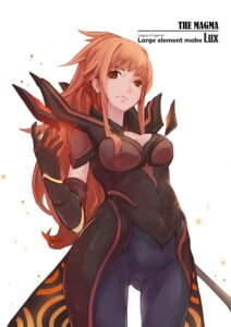 Rating: Safe Score: 23 Tags: armor bodysuit cleavage league_of_legends luoxiaofei User: KazukiNanako
