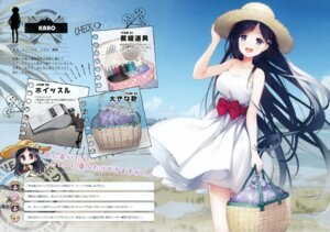 Rating: Safe Score: 31 Tags: chibi dress komowata_haruka senji skirt_lift summer_dress User: kiyoe