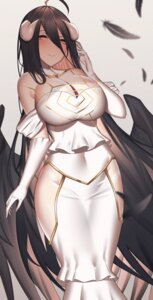 Rating: Safe Score: 35 Tags: albedo_(overlord) aogi_(pixiv9459043) cleavage horns overlord wings User: BattlequeenYume