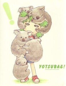 Rating: Safe Score: 12 Tags: koiwai_yotsuba paper_texture yotsubato! User: Radioactive