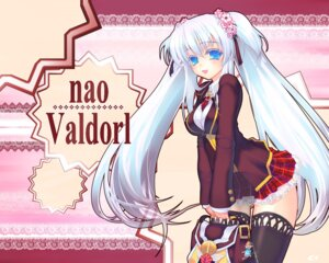 Rating: Questionable Score: 32 Tags: coffee_cat mabinogi nao nopan seifuku thighhighs wallpaper User: luckygod