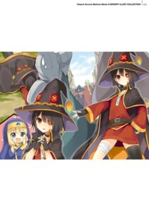 Rating: Safe Score: 24 Tags: armor bandages digital_version dress eyepatch kono_subarashii_sekai_ni_shukufuku_wo! megumin mishima_kurone nun thighhighs witch User: Twinsenzw
