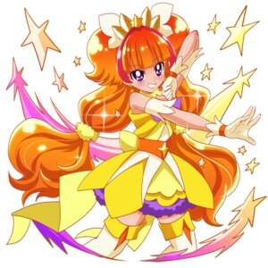 Rating: Safe Score: 13 Tags: amanogawa_kirara dress go!_princess_pretty_cure pretty_cure sharumon thighhighs User: charunetra