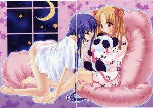 Rating: Questionable Score: 9 Tags: azuma_hatsumi azuma_hazuki gap pajama pantsu yami_to_boushi_to_hon_no_tabibito User: sayane