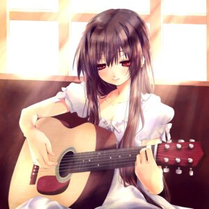 Rating: Safe Score: 67 Tags: ayase_non dress guitar User: Riven