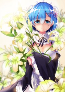 Rating: Safe Score: 57 Tags: cleavage maid re_zero_kara_hajimeru_isekai_seikatsu rem_(re_zero) zzh100200 User: Mr_GT