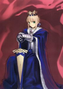 Rating: Safe Score: 14 Tags: armor fate/stay_night saber sword takeuchi_takashi type-moon User: Lua