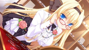 Rating: Safe Score: 64 Tags: game_cg megane mileena_liriano miyasu_risa unlucky_re:birth/reverse windmill User: donicila