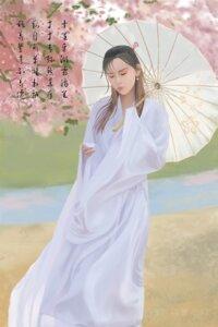 Rating: Questionable Score: 6 Tags: asian_clothes tagme umbrella User: Qingbilin