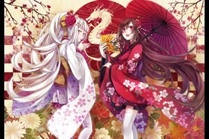 Rating: Safe Score: 21 Tags: kimono thighhighs yuzuki_karu User: Radioactive
