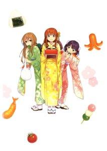Rating: Safe Score: 20 Tags: kawai_makoto kimono koufuku_graffiti machiko_ryou morino_kirin shiina_(koufuku_graffiti) User: fireattack