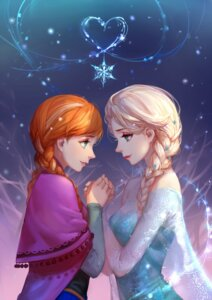 Rating: Safe Score: 39 Tags: anna_(frozen) asukaziye elsa_(frozen) frozen User: Minacle