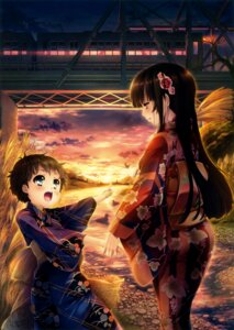 Rating: Safe Score: 36 Tags: ass katagiri_hinata yukata User: Twinsenzw