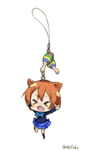 Rating: Safe Score: 14 Tags: animal_ears chibi hoshizora_rin love_live! minase_shuu nekomimi seifuku User: Radioactive
