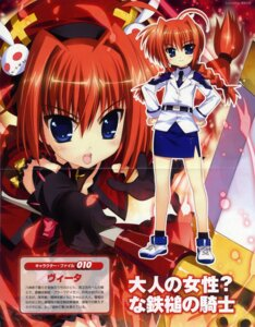 Rating: Safe Score: 12 Tags: binding_discoloration crease fujima_takuya mahou_shoujo_lyrical_nanoha mahou_shoujo_lyrical_nanoha_a's mahou_shoujo_lyrical_nanoha_strikers vita User: Share