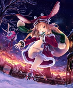 Rating: Questionable Score: 44 Tags: christmas feet pantsu zuppon User: gnarf1975
