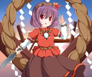 Rating: Safe Score: 13 Tags: nikku touhou yasaka_kanako User: akusiapa