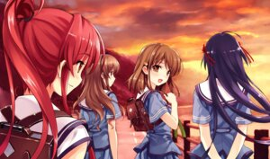 Rating: Safe Score: 47 Tags: abhar deep_blue_sky_&_pure_white_wings game_cg koga_sayoko misaki_kurehito miyamae_tomoka nakano_hinata seifuku tsuyazaki_kokage User: ieiediediedie