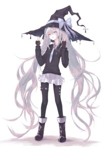 Rating: Safe Score: 33 Tags: cre7 garter heterochromia pantyhose witch User: BattlequeenYume