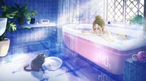 Rating: Questionable Score: 10 Tags: bathing neko tagme topless User: Dreista