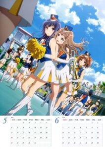 Rating: Safe Score: 32 Tags: calendar cheerleader heels hibike!_euphonium nakagawa_natsuki uniform yoroizuka_mizore yoshikawa_yuuko User: drop